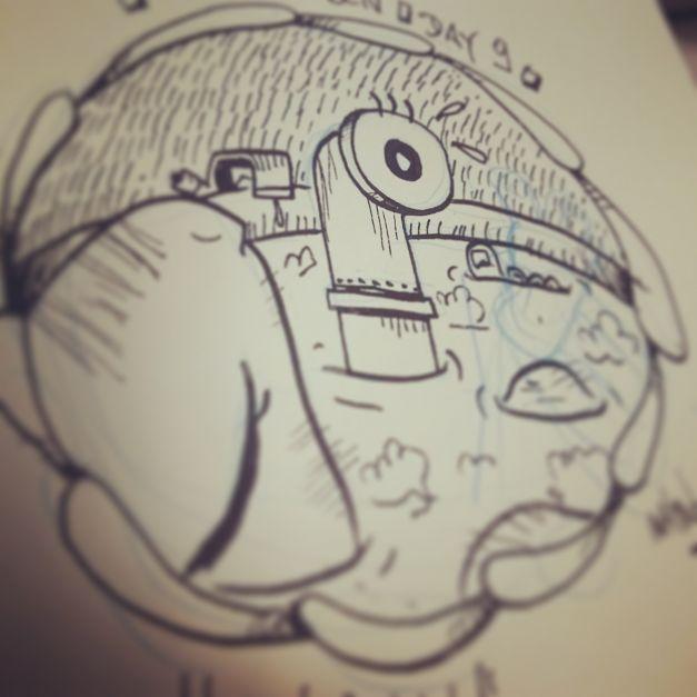 Croquis Drawlloween #09 - Eyeball