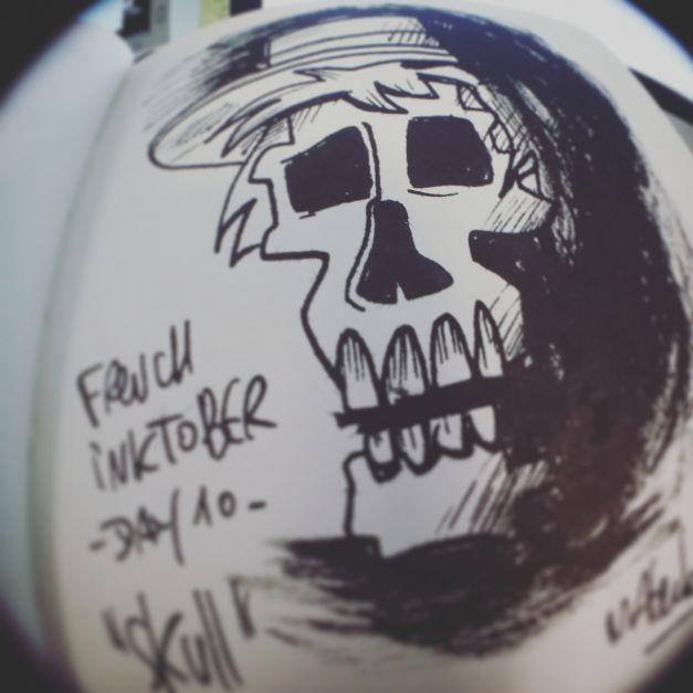 Inktober #10 - Skull