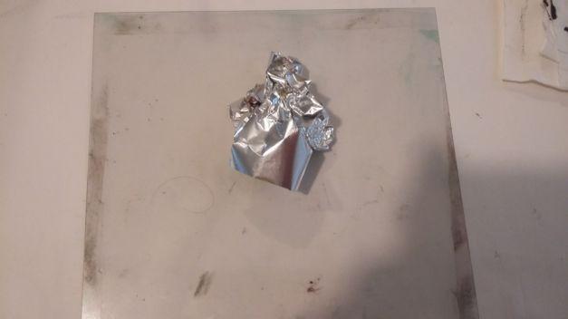 Kithen Litho atlier aluminium froissé